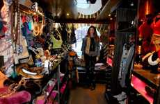 Traveling Fashion Boutiques - The StyleLiner is a Pop-Up Shop on Wheels