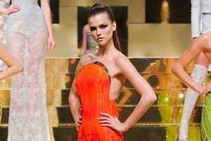 The Versace Haute Couture Spring 2012 Collection is Spectacular