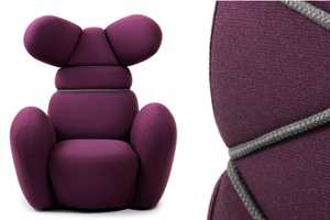 The Bunny Chair by Iskos-Berlin is a Youthful Rejuvination of the Wingback