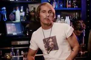 Matthew McConaughey as David Wooderson for 'Synthezisers' Music