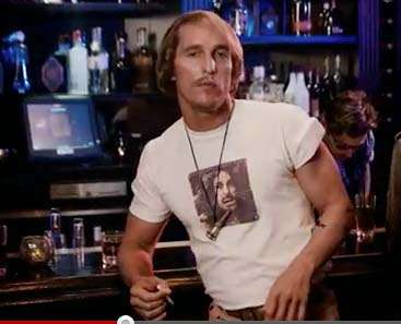 Matthew McConaughey as David Wooderson