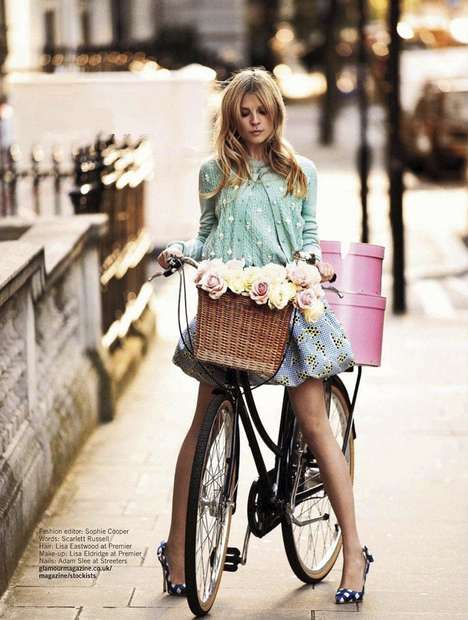 Clemence Poesy Glamour UK February 2012