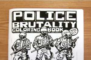 The Police Brutality Coloring Book was Inspired by Occupy Wall Street