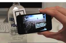 Honest Augmented Reality Tags - Absolut Truths Take You to Another World