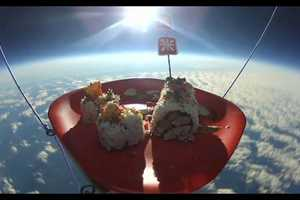 Sushi in Space Promotes Out-of-This World Taste