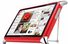 Digital Cookbooks - The QOOQ Culinary Tablet is Sleek