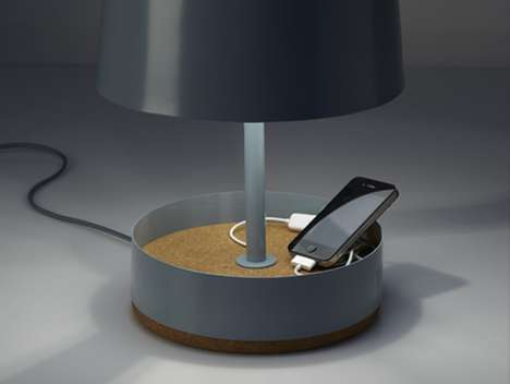 Hodge Podge USB Lamp