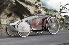 19th Century EVs - The Fayton Concept Car is Inspired by the Horse-Drawn Buggy