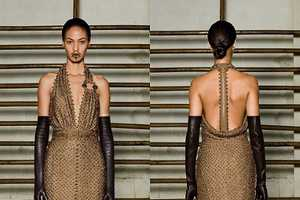 The Givenchy Haute Couture Spring 2012 Collection is Rich in Texture