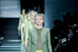 The Giorgio Armani Prive Haute Couture Spring 2012 Goes Green