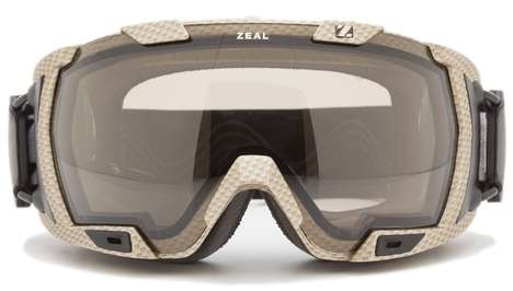 Tech-Savvy Data Eyewear - Zeal Z3 Goggles Records All Your Information On the Slopes