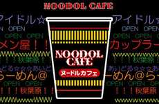 Celebrity Vending Machines - The Noodol Cafe Has Pop Stars Bring You Food