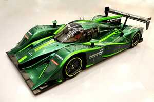 The Lola Drayson B12/67EV is Fit for the Green Lantern