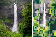 Pixelated Landscape Carpets