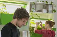 Indoor Composting Ecosystems - Parasite Farm Provides Bins and Planters for Urbanites
