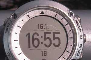 The Suunto Ambit GPS-Enabled Watch Tracks Performance and Heart Rate