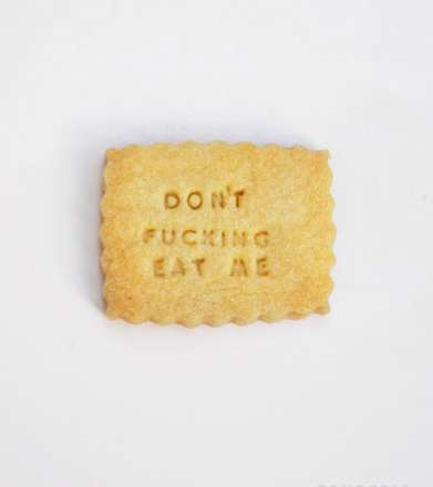 Direct Discouraging Delectables - The Fonderia Diet Biscuits are Temptation-Free Treats