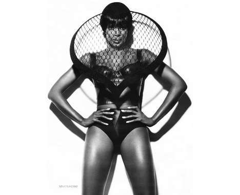 Naomi Campbell Shoots
