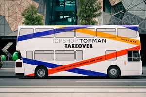 The Topshop Tour Bus Promotes Opening of Melbourne Store