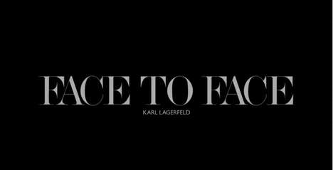 Face to Face Karl Lagerfeld