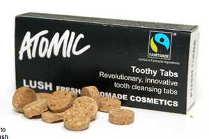Lush Toothy Tabs are an Eco-Friendly Way Clean Your Teeth