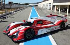 Eco-Friendly Endurance Racers - The Toyota TS030 Hybrid is Designed for the 24 Hours at Le Mans