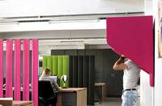 Wall-Mounted Nooks - BuzziHood by Alain Gilles is Made Out of Recycled Material