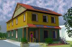 Extremely Eco Houses - Students Build Canada's Greenest Home in Ontario