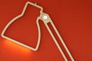 The Nepa Lamp by Giles Godwin-Brown is Paper-Thin