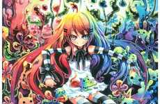 Rainbow-Hued Watercolor Anime