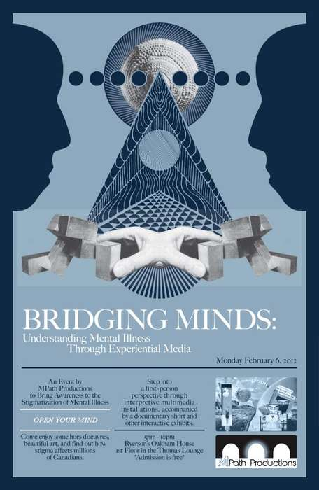 Anxiety Perspective Ads - Bridging Minds Sees Through the Eyes of the Unstable