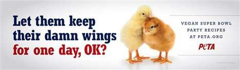 Peta chicken wings