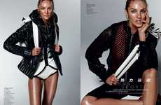 The Candice Swanepoel Vogue China Editorial is Hot