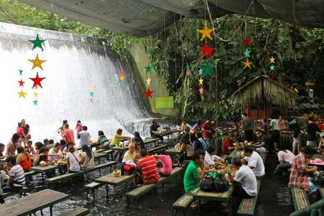 Villa Escudero Waterfalls Restaurant