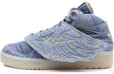 The JS Wings Denim Shoes are Angelic
