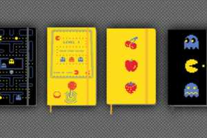 Moleskine Pac-Man Looks Back to Retro Games for the New Line