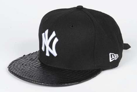 Hip-Hop Tour Snapbacks - The New Era Black Yankees Snakeskin Hat Pays Tribute to Watch The Throne