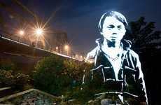 Ghostly Luminous Portraits - Photographer Wittner Fabrice Illuminates Vietnam with Light Stencils