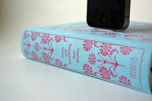 The Book Chargers Allow You to Read and Recharge in One