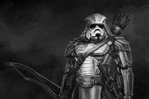 Clinton Felcker Takes Star Wars Characters and Makes Them Into Ancient Warriors