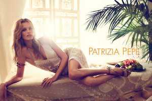 Edita Vilkeviciute Stars in Patrizia Pepe Spring Summer 2012 Campaign