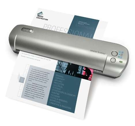 Portable Wireless Scanners - Scan & Transfer Documents Easily With the Xerox Mobile Scanner