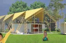 Elaborately Extensible Housing - The SuperFlex Home System Can Be Reconfigured Depending on Needs