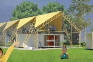 The SuperFlex Home System Can Be Reconfigured Depending on Needs