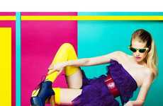 From Whimsical Mod Fashion to Neontastic Color-Blocked Spreads