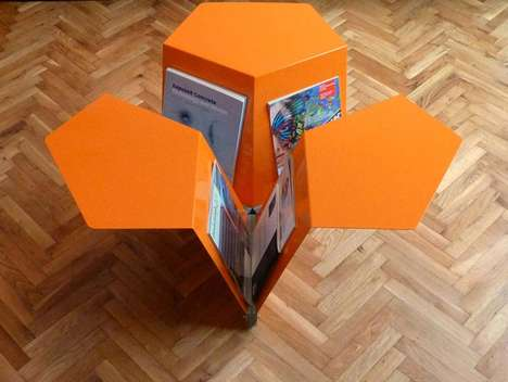 news coffee table
