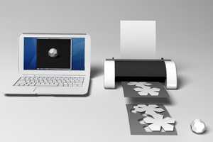Mac Funamizu's Dream Printer Creates Fully Folded 3D Models