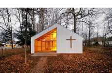 58 Clever Churches - From Transparent Sacred Chapels to Spikey Seed Sanctuaries