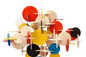 The Bau Lamp Brings a Mosaic of Colors into the Home