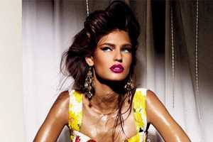 Bianca Balti in 'Power and Passion' for Vogue Nippon Beauty March 2012